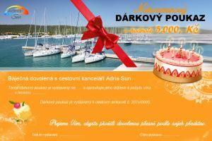 Dárkový poukaz - narozeniny